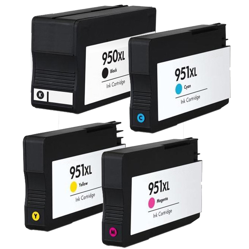 Combo Pack HP 950XL (1BK+#CLR)