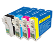 Combo Pack Remanufactured Epson T127 (1 BLK+3 CLR)