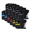 Combo Pack Compatible Brother LC103 High Yield (5 BLK+6 CLR)
